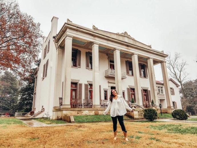 Sarah Fay at Belle Meade Plantation in Nashville, TN
