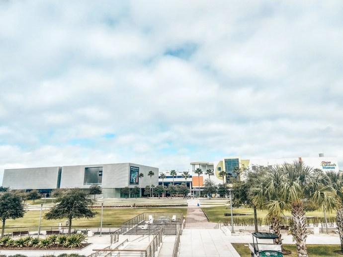 Tampa Museum of Art along the Riverwalk