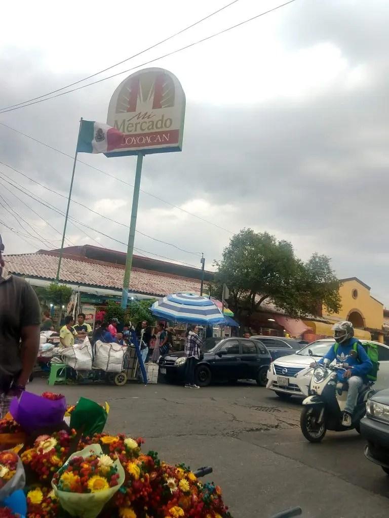 Market in Coyoacán Mexico City