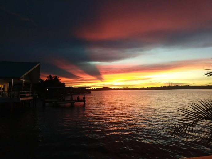 Sunset in Bocas Del Toro