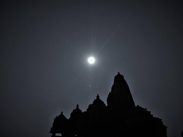 History of Khajuraho Silhouette