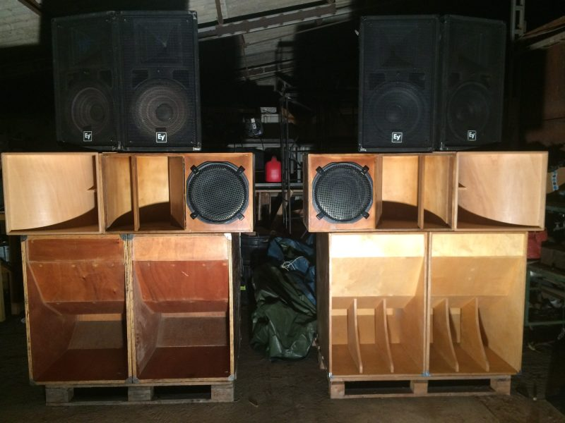 Le sound system évolue !