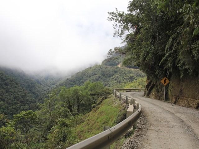 Trampolín de la muerte. Strasse von San Agustín über Mocoa nach Pasto