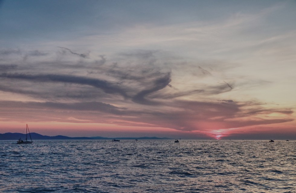 Zadar Sonnenuntergang