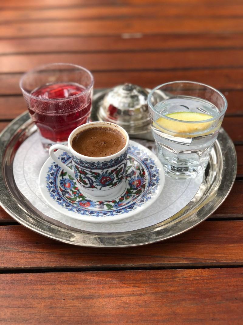 Türkei Istanbul Kaffee