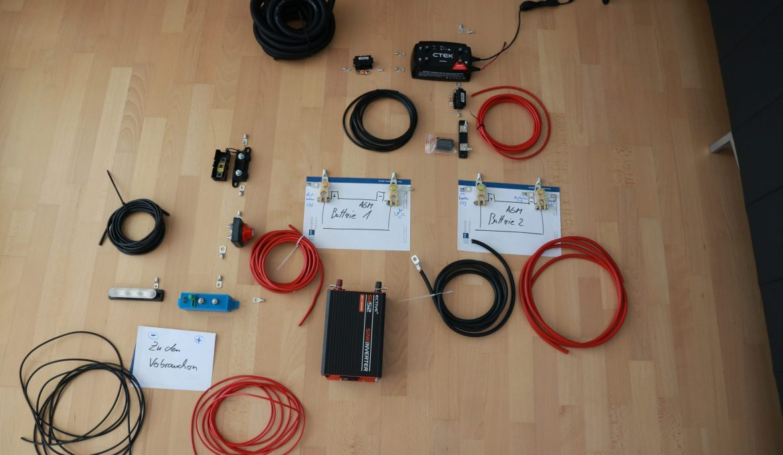 Elektroinstallation in Wohnmobil und Camper