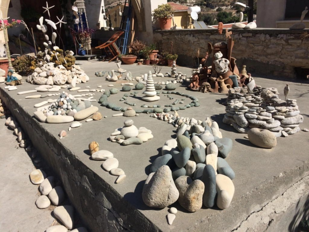 stone sculpture kalavassos