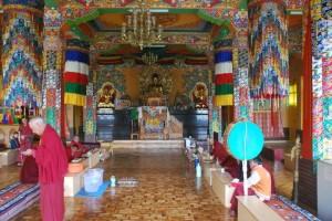 Lahaul Spiti, Kaza Monastery. Meditation retreats