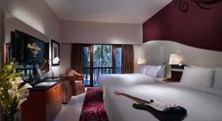 Hardrock Kuta Bali Pool Bed Room