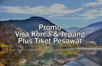 Promo Visa korea & Jepang dapatkan diskon biaya pengurusan