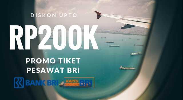 Promo Tiket Pesawat Kartu Kredit BRI