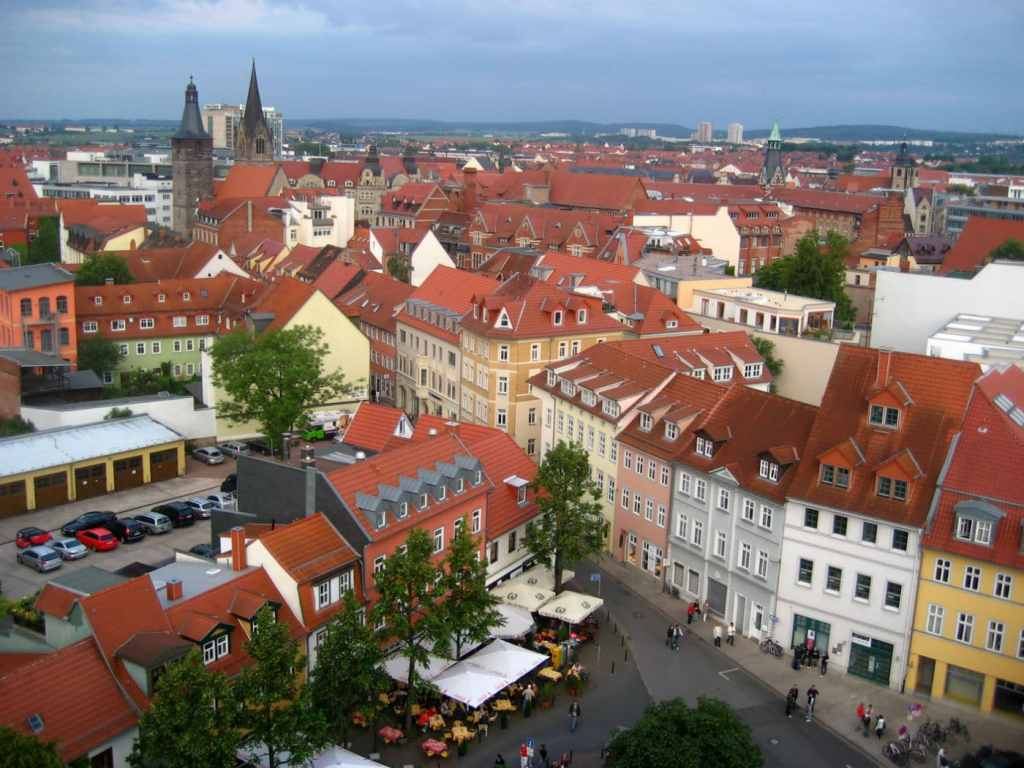 the towns of thuringia germany