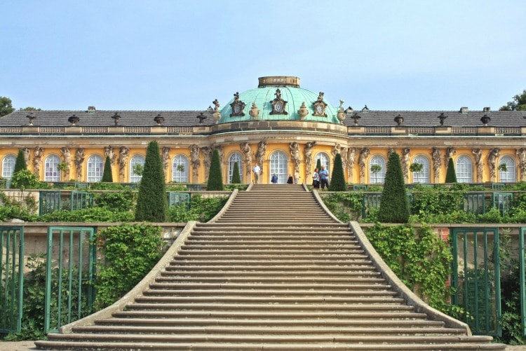 Sanssouci Palace - Best Berlin Experiences on R. Couri Hay CReative Public Relations