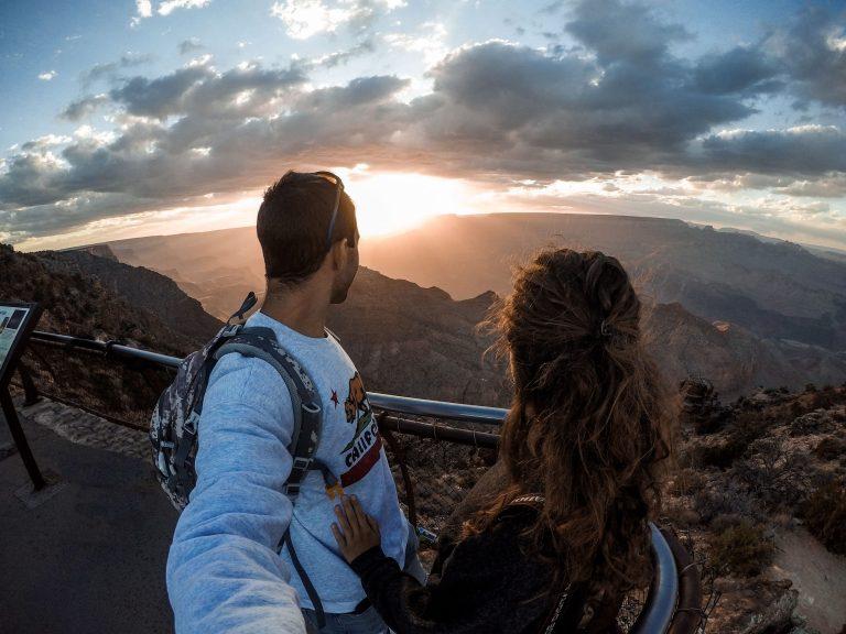 Viaggiare a lungo termine: grand canyon