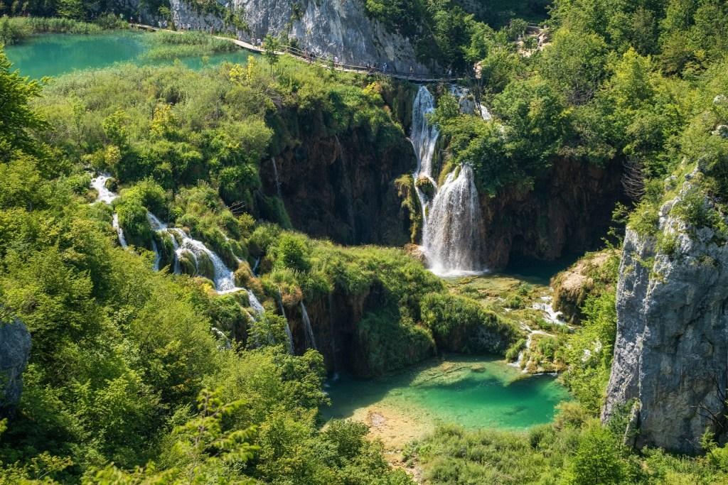 Laghi di Plitvice, Croazia, Interrail