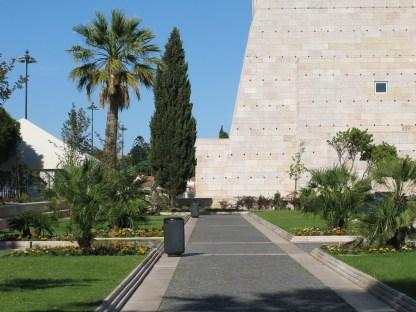 Outside the Berardo Museum