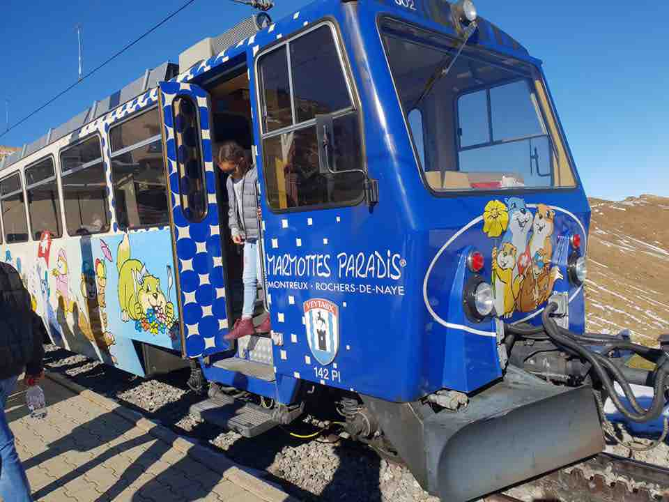 A Trip By Cogwheel Railway to the Top of The Stunning Rochers de Naye