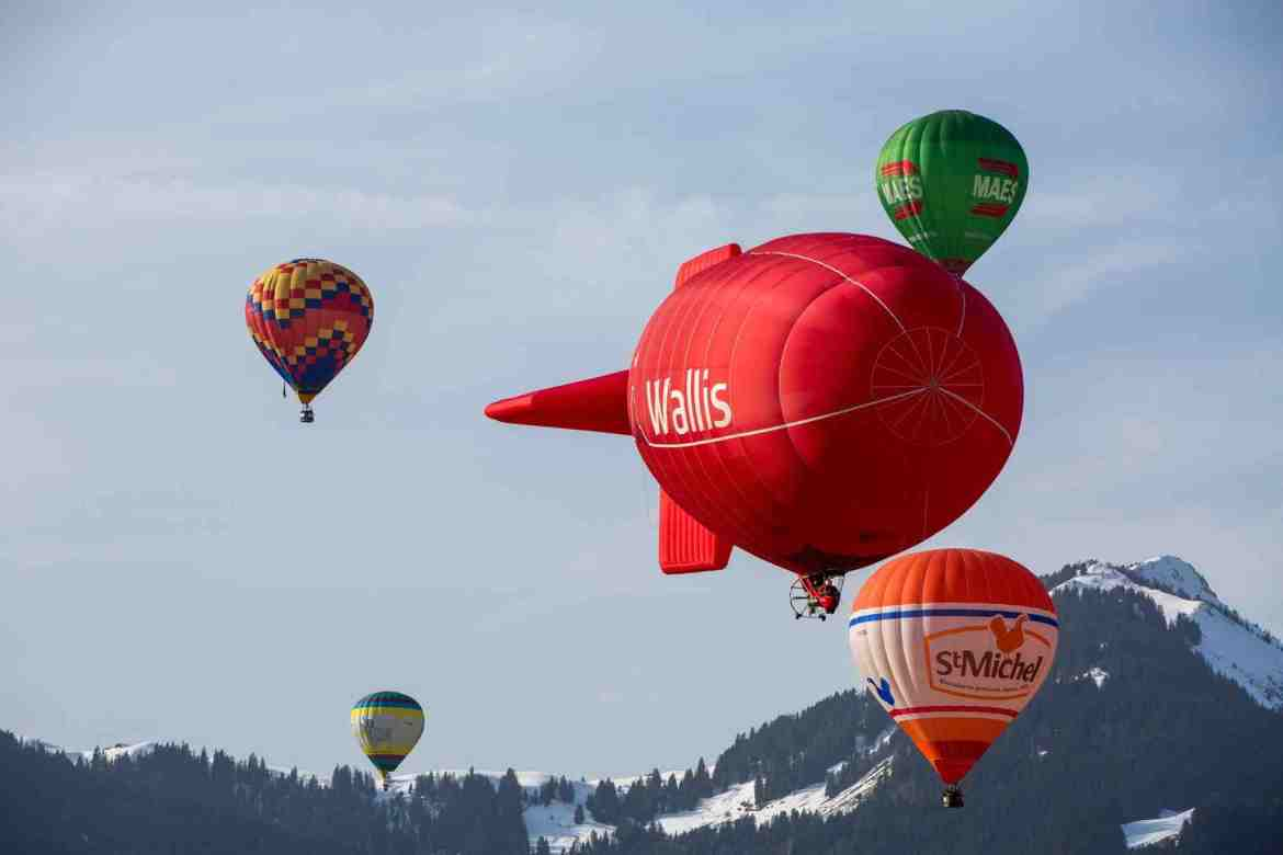Flying High at the International Balloon Festival Chateau d'Oex