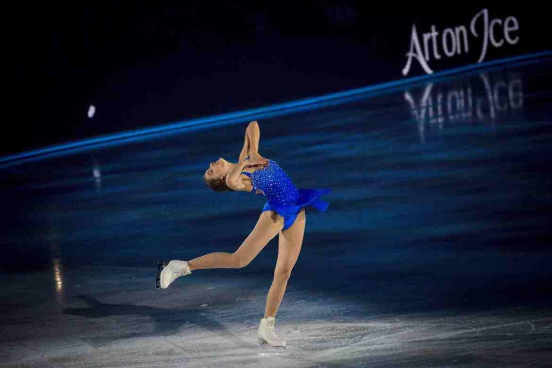 Alexia Paganini Art On Ice Zurich Switzerland