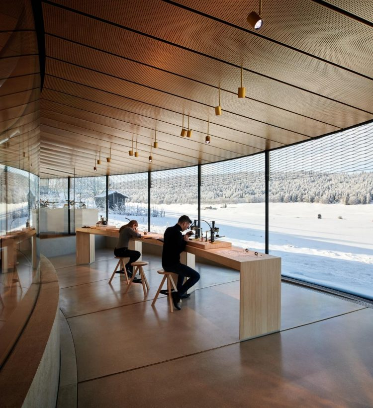 Audemars Piguet Watchmaking Museum in the Jura Valley