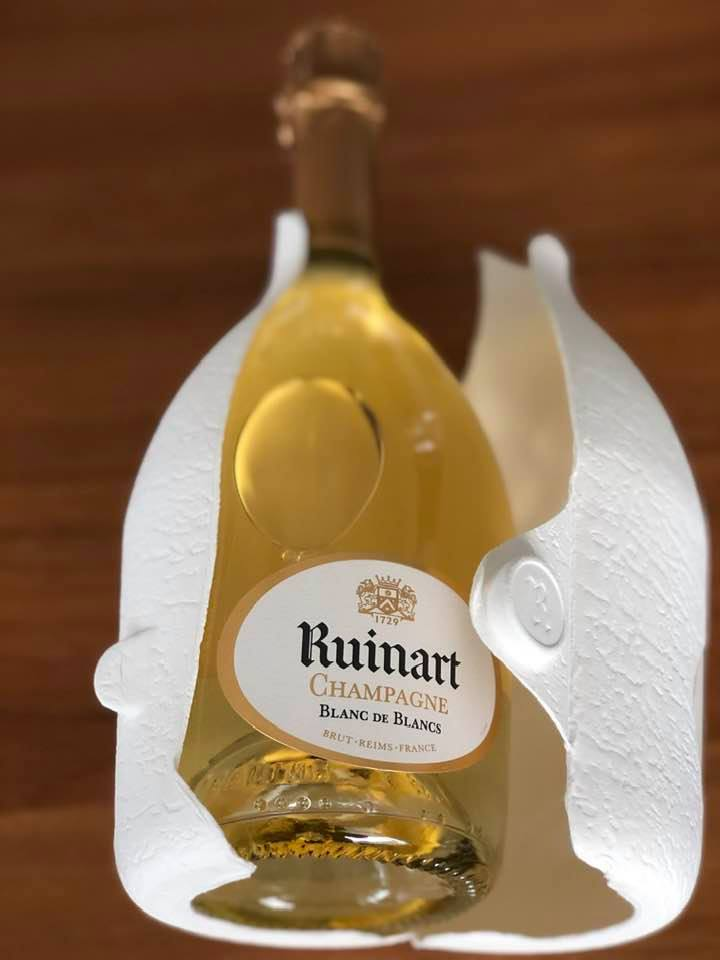 Champagne from Ruinart in New Eco Friendly Packaging