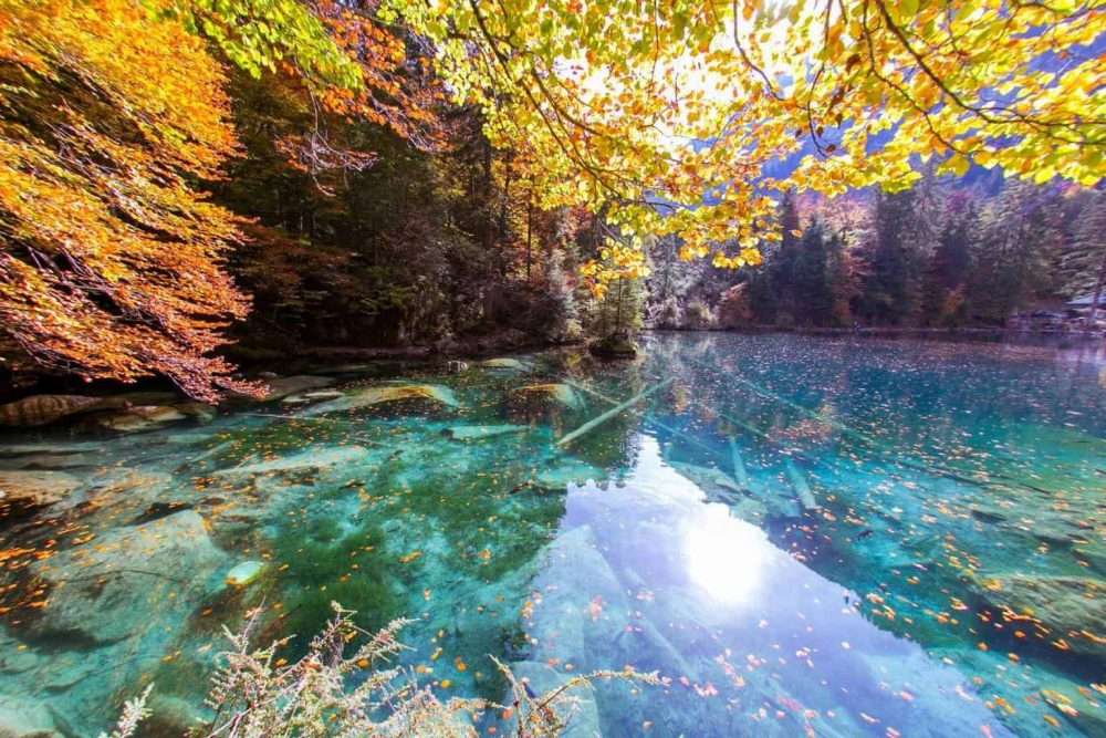 Blausee near Bern