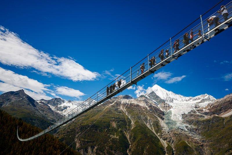 The Charles Kuonen Suspension Bridge