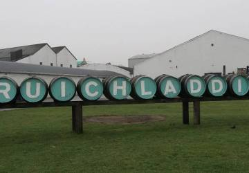 Scottish Routes Islay Whisky Tour bruichladdie sign.