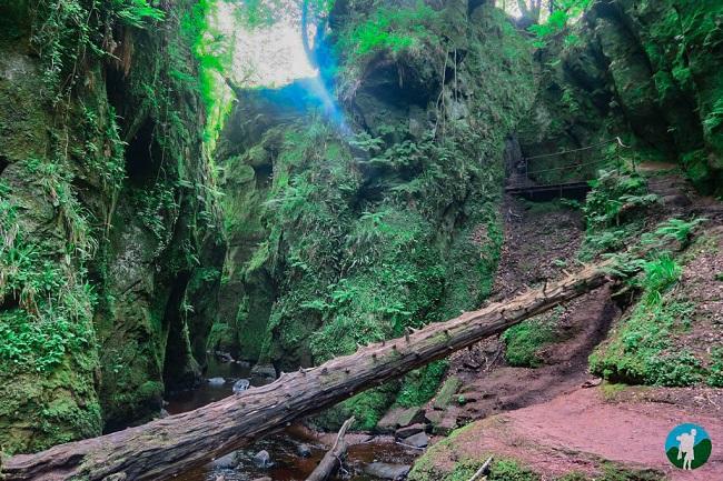 devil's pulpit outlander locations scotland