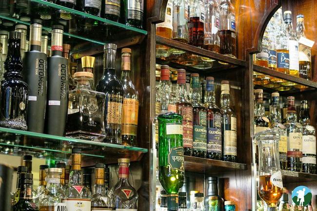 whisky glasgow bon accord bar