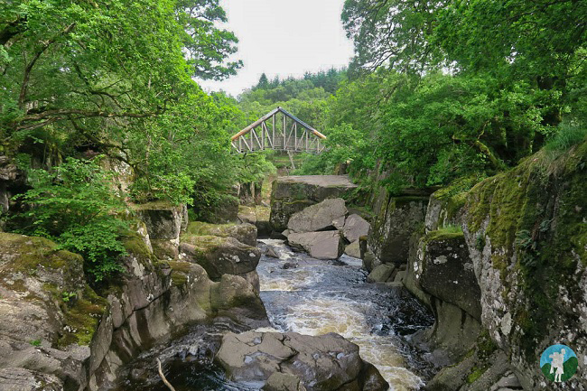 bracklinn falls trosschs walks outdoors scotland