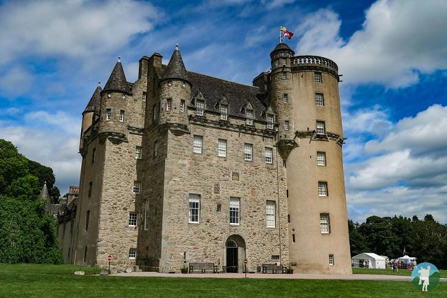 castle fraser jacobite castle trail