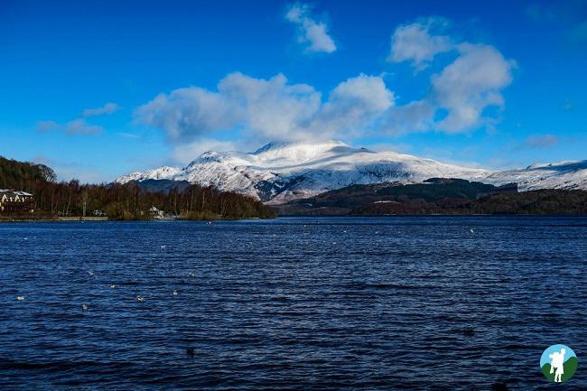 ben lomond snow luss top 5 walks in scotland beginner