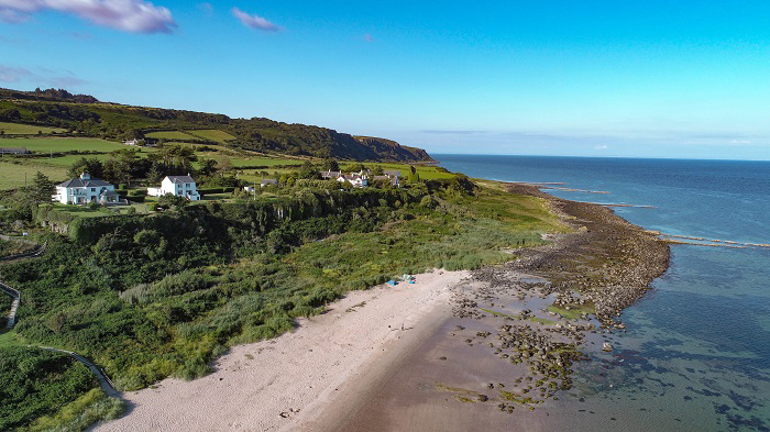 kildonan beach drone which scottish island visit