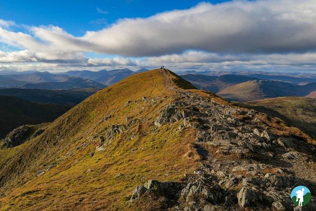 ridge ben vorlich loch earn top 5 walks in scotland