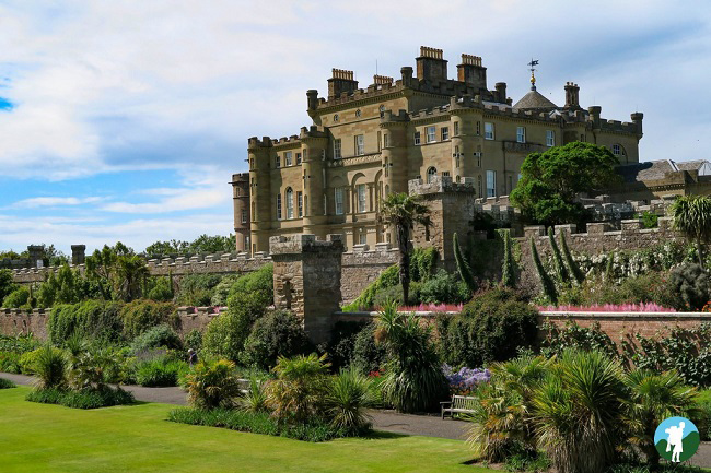 best clifftop castles scotland culzean