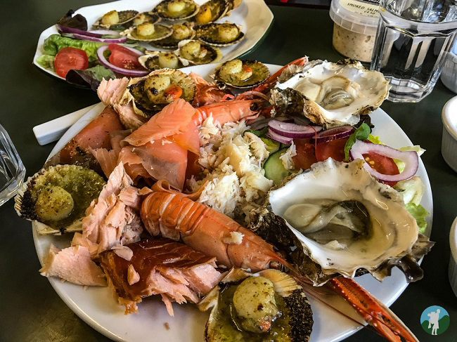 seafood skipness kintyre peninsula boathouse