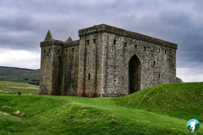 hermitage castle scottish borders history trail
