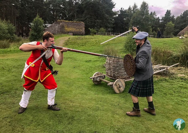 highland folk museum outlander costume event