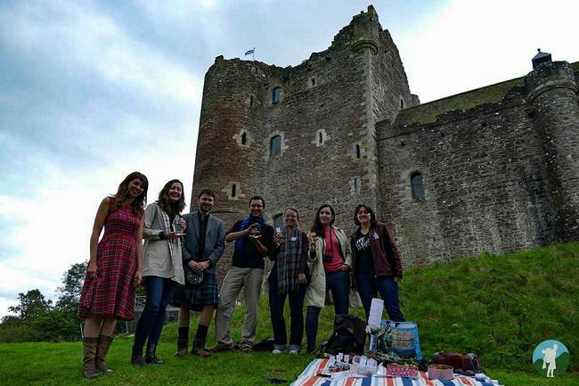 scotlanders bloggers outlander challenge