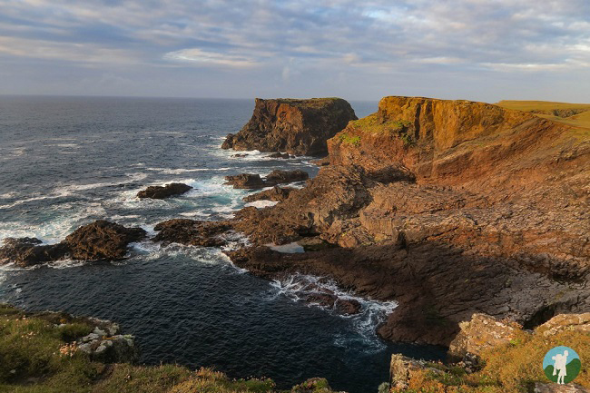 eshaness shetland cliffs travel blog