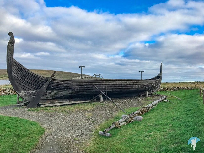 viking longship shetland travel guide history