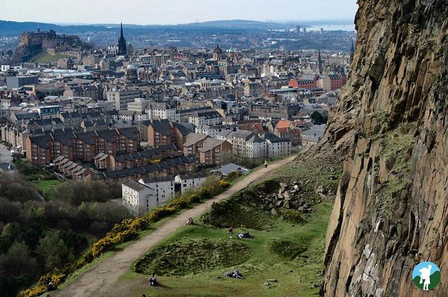 Arthur's Seat scotland road trip itinerary edinburgh