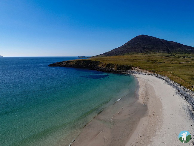 drone photography scotland isle of harris