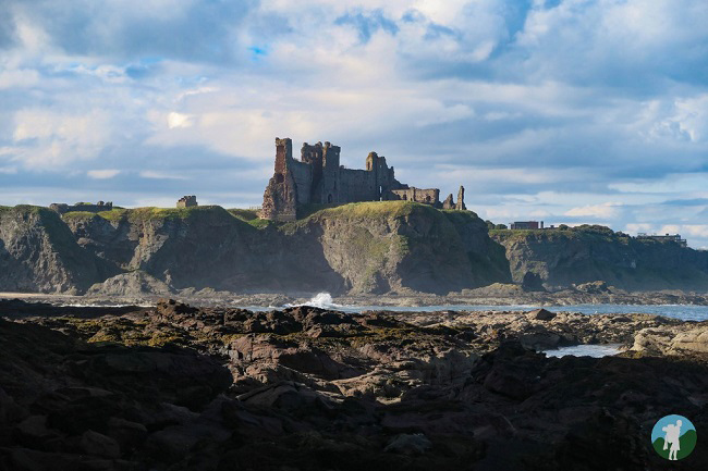 tantallon castle southern scotland itinerary