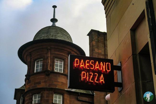 paesano pizza glasgow west end restaurants