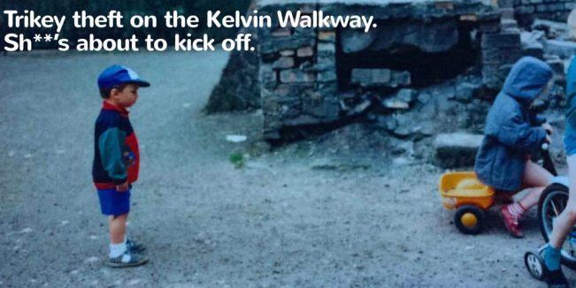 kelvin walkway