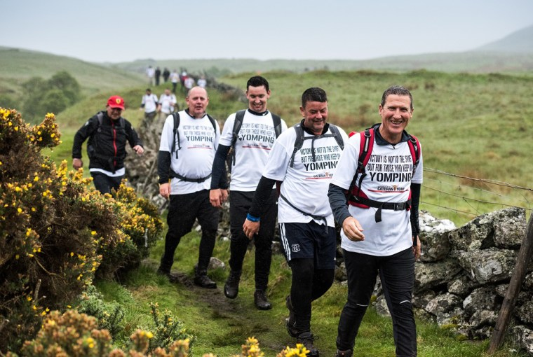 cateran yomp charity long distance walk