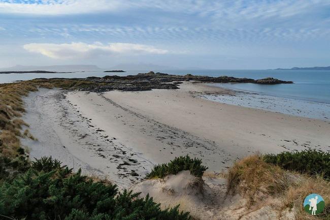 camusdarach beach caravan hire scotland