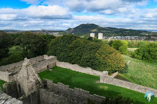 craigmillar castle view ardsmuir prison outlander